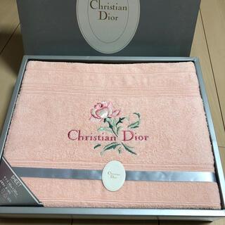 Christian Dior - クリスチャンディオール タオルシーツ