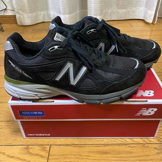 ニューバランス(New Balance)のNew Balance990v4black27センチ(スニーカー)