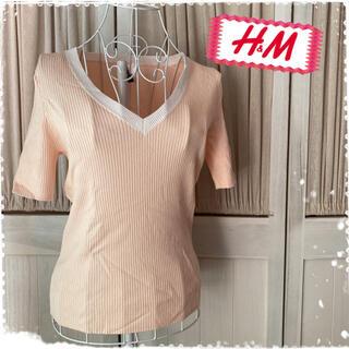 エイチアンドエム(H&M)のH&M カットソー Tシャツ(Tシャツ(半袖/袖なし))