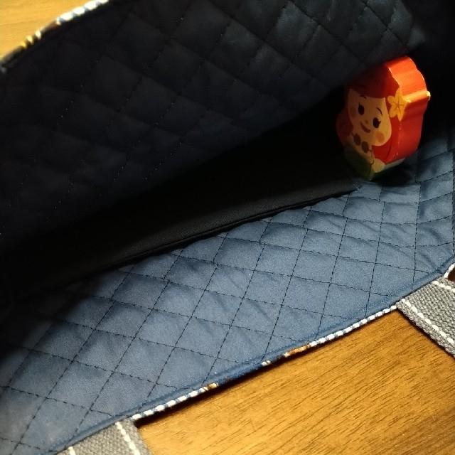 レッスンバッグ ポロベア 訳あり キッズ/ベビー/マタニティのこども用バッグ(レッスンバッグ)の商品写真