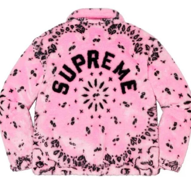 Supreme(シュプリーム)のsupreme bandana faux fur jacket メンズのジャケット/アウター(その他)の商品写真