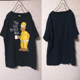 サンタモニカ(Santa Monica)のメキシコ製 海外古着 OLD シンプソンズ パンツ一丁がカワイイ Tシャツ(Tシャツ/カットソー(半袖/袖なし))