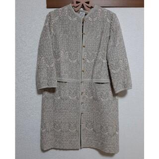 mina perhonen - ANTIPAST アンティパスト 総刺繍コート ロングジャケット
