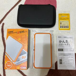 ニンテンドー2DS(ニンテンドー2DS)のNintendo ゲーム機本体 NEW ニンテンドー 2DS LL ホワイト/オ(携帯用ゲーム機本体)