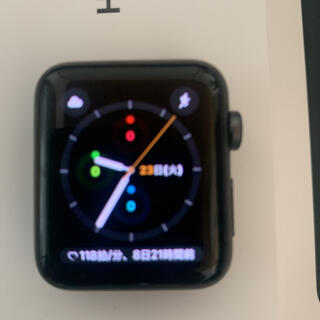 Apple Watch - Apple Watchシリーズ3GPS42mm