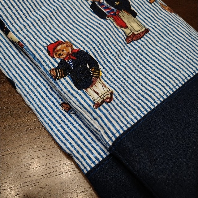 ポロベア ハンドメイド レッスンバッグ キッズ/ベビー/マタニティのこども用バッグ(レッスンバッグ)の商品写真