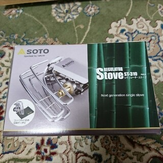 シンフジパートナー(新富士バーナー)のSOTO レギュレーターストーブ ST-310 新品(ストーブ/コンロ)