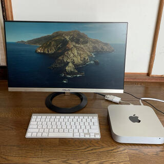 Apple - Mac mini2012   ASUSモニター 純正キーボード 3点セット