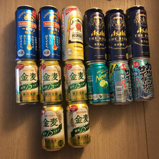 サントリー - 家飲みセット ビール、チューハイ まとめ売り 14本