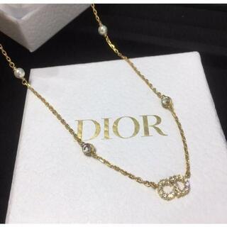 Christian Dior - 新品未使用 Dior ディオール ネックレス ディオール ロゴ ネックレス