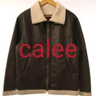 CALEE - CALEE  FAKE MOUTON JACKET ムートンジャケット
