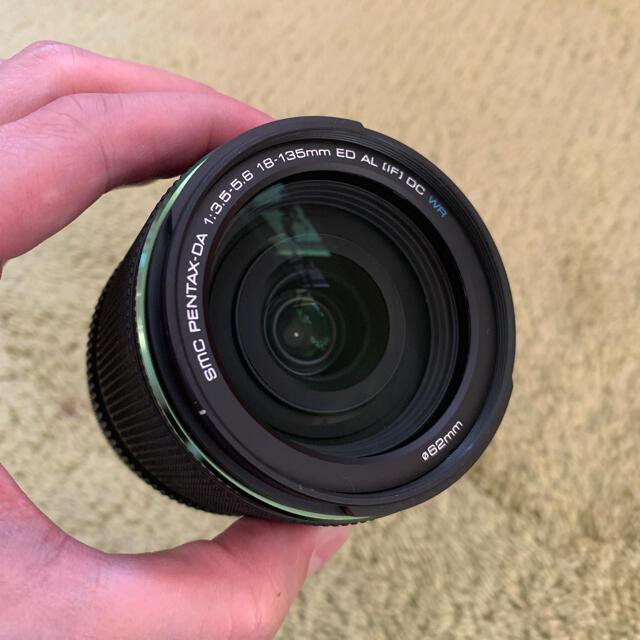 PENTAX(ペンタックス)のほぼ新品 smc PENTAX-DA 18-135mm スマホ/家電/カメラのカメラ(レンズ(ズーム))の商品写真