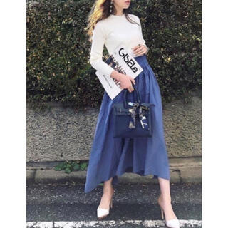 rienda - リエンダ♡カラーフレアヘムスカート