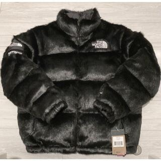 L Supreme The North Face Faux Fur Nuptse