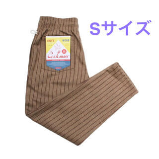 シップス(SHIPS)のCOOKMAN ウール シェフパンツ Wool mix Stripe ベージュ(ワークパンツ/カーゴパンツ)