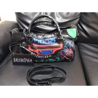 Balenciaga - 【超美品】BALENCIAGA グラフィティ ハンドバッグ