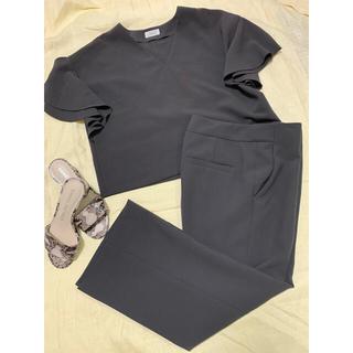 IENA - IENA セットアップ 半袖ブラウス&パンツ 38サイズ