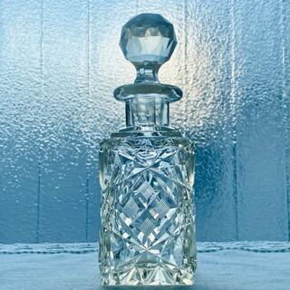 バカラ(Baccarat)の【極希少美品】オールドバカラ*ダイヤモンドカット デキャンタ*香水瓶 花瓶(その他)