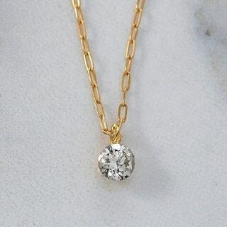 agete - agete K18 ダイヤモンド ネックレス 0.1ct ¥52,800