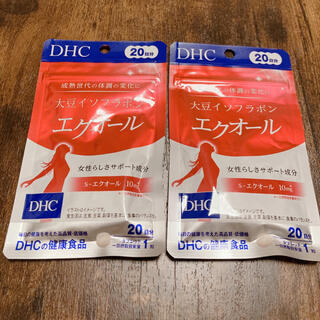 DHC - 新品未開封  DHC  大豆イソフラボン  エクオール  20日分