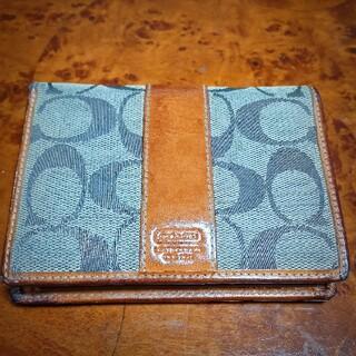 COACH - 本物  COACH コーチ二つ折り財布①使いやすいデザインです