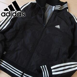 adidas - 美品 L アディダス レディース ウインドブレーカージャケット ブラック