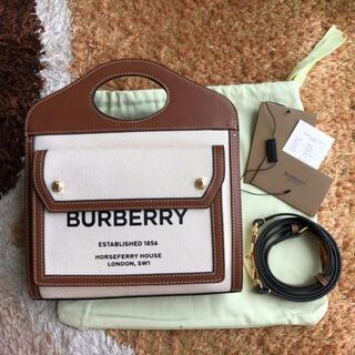 BURBERRY - BURBERRY ポケットバッグ 2WAY ショルダーバッグ