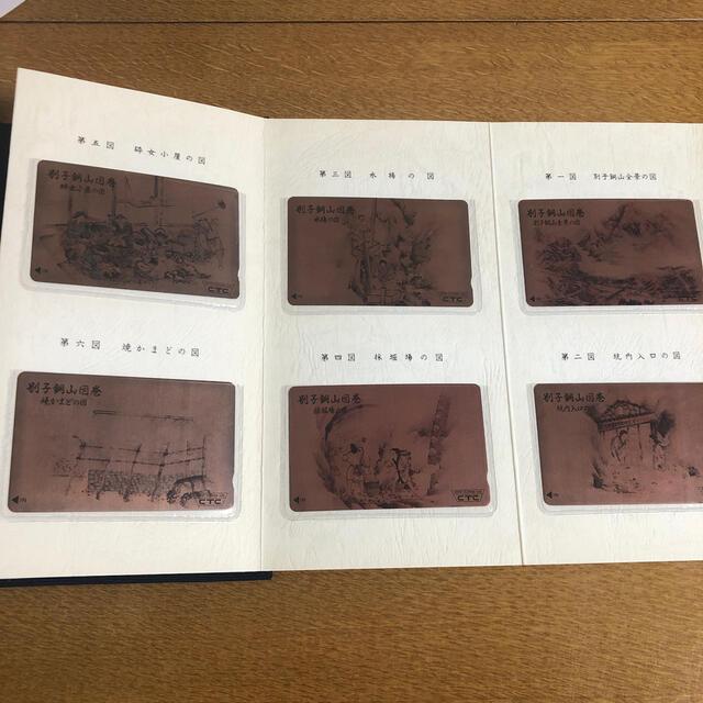 テレホンカード 別子銅山図巻記念 スポーツ/アウトドアの野球(記念品/関連グッズ)の商品写真