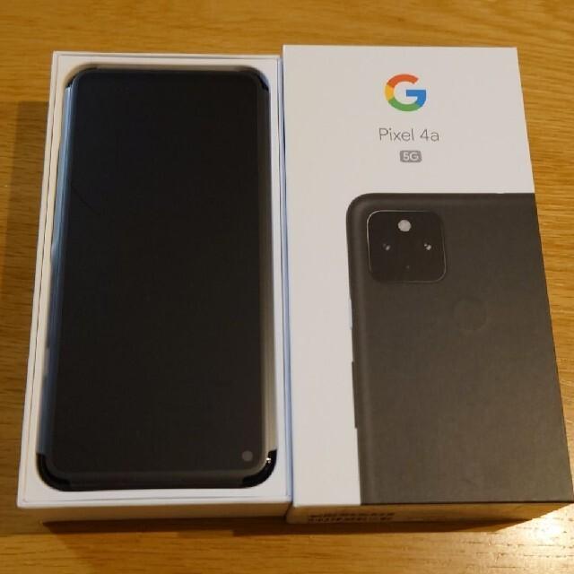 Google Pixel(グーグルピクセル)の新品未使用 Pixel 4a 5G JustBlack シムフリー ソフトバンク スマホ/家電/カメラのスマートフォン/携帯電話(スマートフォン本体)の商品写真