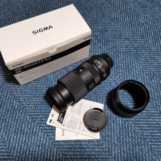 シグマ(SIGMA)のSIGMA 100-400mm f5-6.3 FOR NIKON(レンズ(ズーム))