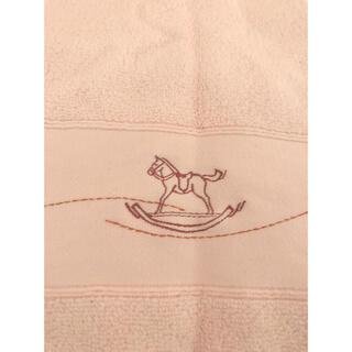Hermes - エルメス タオル 赤ちゃん ピンク
