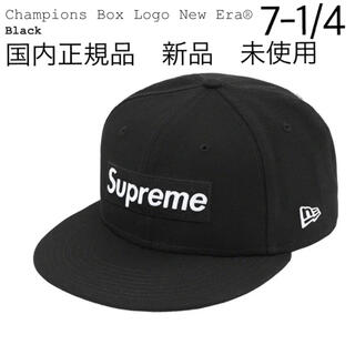 Supreme -  Supreme Champions Box Logo New Era 黒