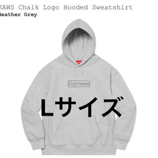 Supreme - KAWS Chalk Logo Hooded Sweatshirt L
