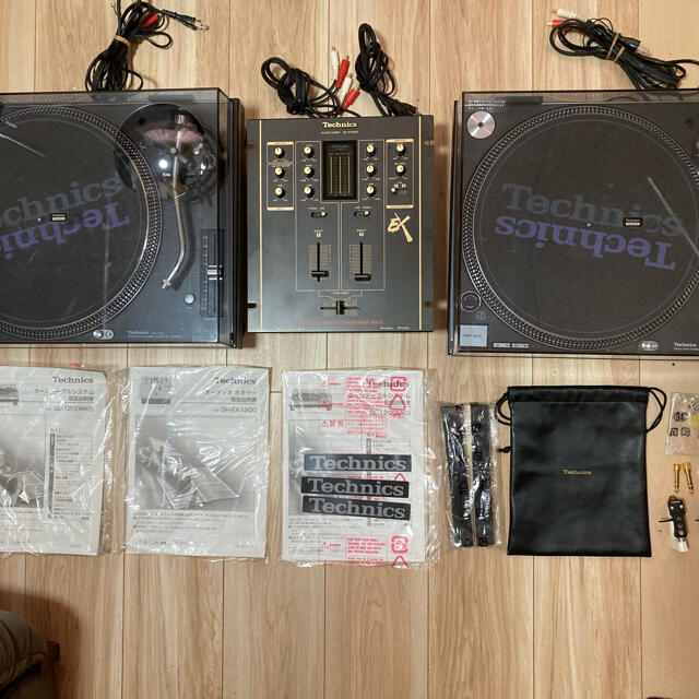 【halcion様専用】Technics SL−1200MK5 セット 楽器のDJ機器(ターンテーブル)の商品写真