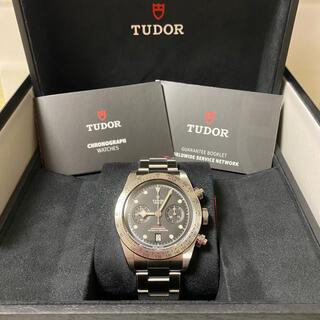 Tudor - チューダー ブラックベイクロノ SS Ref. 79350