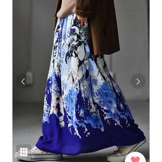 antiqua - アンティカ アートデザインスカート