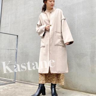 Kastane - 新品♡ パイピングコート kbf フーズフーチコ ミスティック