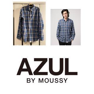 アズールバイマウジー(AZUL by moussy)のAZULby moussy Madras check shirt(シャツ)