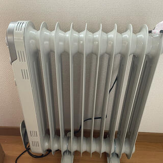 ヤマゼン(山善)のYAMAZEN ほぼ新品 半額 DO-TL124 山善 オイルヒーター タイマー(オイルヒーター)