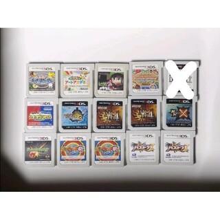 ニンテンドー3DS(ニンテンドー3DS)の3DSソフト 15本セット まとめ売り(携帯用ゲームソフト)