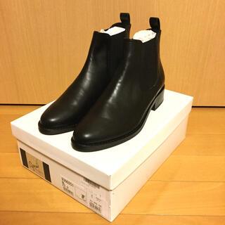 サヴァサヴァ(cavacava)の【新品未使用】アプレ ショートブーツ 23cm 日本製 箱あり 本革製 レザー(ブーツ)