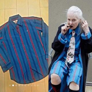 Vivienne Westwood - インポート ナイト ストライプ シャツ