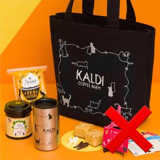 カルディ(KALDI)の新品 KALDI ネコの日バック プレミアム 2021(トートバッグ)