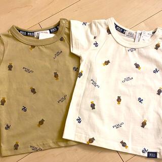 POLO RALPH LAUREN - ポロベア 総柄 Tシャツ 90 セット バースデイ polo