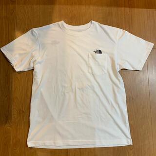 THE NORTH FACE - THE NORTH FACE ポケットTシャツ【ホワイト】XLサイズ