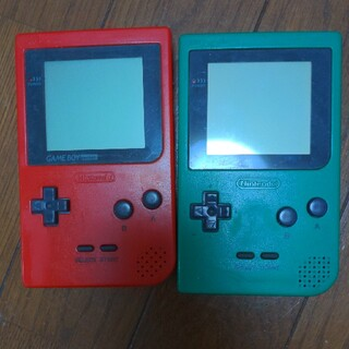 ゲームボーイ(ゲームボーイ)のGAMEBOY Pocket 本体(携帯用ゲーム機本体)
