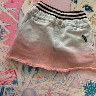 ベビードール(BABYDOLL)のベビードール デニム グラデーションスカート(スカート)
