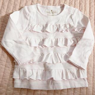 ケイトスペードニューヨーク(kate spade new york)のケイトスペード 長袖Tシャツ フリルロンT 80(Tシャツ)