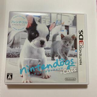 ニンテンドー3DS(ニンテンドー3DS)のnintendogs + cats フレンチ・ブル&Newフレンズ 3DS(携帯用ゲームソフト)