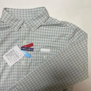 New Balance - 【新品、未使用】ニューバランスゴルフ チェックシャツ メンズ サイズ:6(LL)